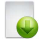 download,file,descending icon