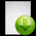 download,file,descending icon