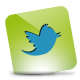 Green, Hover, Twitter icon