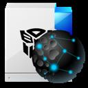 file, paper, internet, document icon