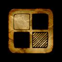 square, delicious, logo icon