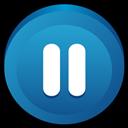 Button, Pause icon