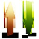bandwidth, upload, process, download icon