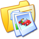 picture, image, photo, pic, folder, yellow icon