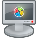 monitor, computer, screen icon
