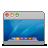 aqua, desktop icon
