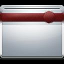 ribbon, folder icon