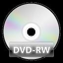 disc, rw, dvd icon