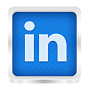 linked, linked in icon