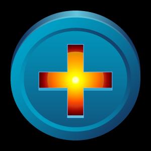 add, bittorrent, badge, bt, plus icon