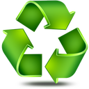 recycling, line, recover, refresh, arrow, recycle icon