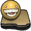 files, funny icon