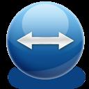 resize hor icon