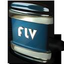 flv, file icon