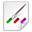 Colors, File icon