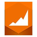 Analytics, Google icon