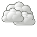 weather, overcast icon