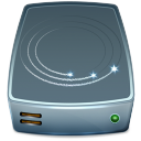 externe, hard drive, hard disk, hdd icon