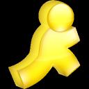 yellow, aim icon