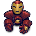 blackred ironman icon
