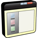 Window Left Panel icon