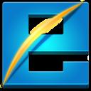 Explorer, Internet, Square icon