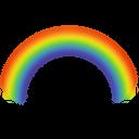 rainbow, weather icon