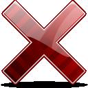 cancel, remove, delete icon