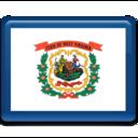 west,virginia,flag icon