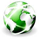 web, globe, world, browser, internet, earth, planet icon