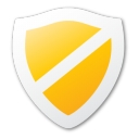 security, guard, yellow, protect, shield icon