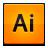 suite, creative, illustrator icon