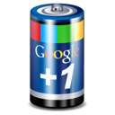 +1, google, google+, one, battery, plus icon