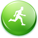 account, person, man, male, profile, running, member, runprocesscatcher, human, user, people, green icon