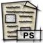 postscript, gnome, mime, application icon