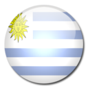 uruguay,flag,country icon