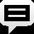 spechbubble, line icon