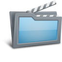 movie, folder icon