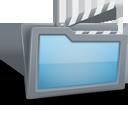 movie, folder icon