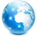 internet, world, network, earth, web, globe, browser icon