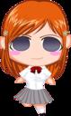 Bleach Chibi Nr 11 Inoue by rukichen icon