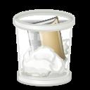 trash, recycle bin, profile, people, full, human, user, account icon