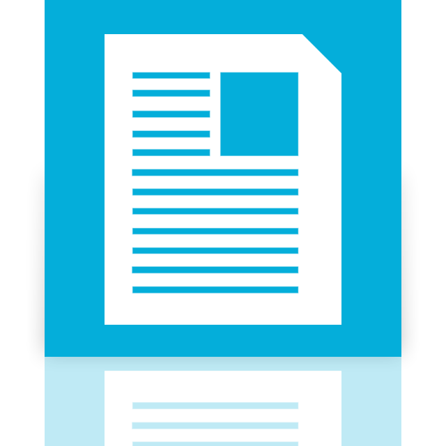 mirror, documents icon