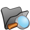 Black, Explorer, Folder icon
