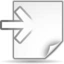 Actions document import icon