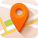 pointer, destination, location, map icon