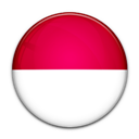 Flag, Indonesia, Of icon