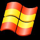 flag, xp, spain icon