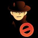 user, killer, thief, intruder, hacker icon