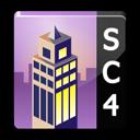 sims, square, building, simcity icon